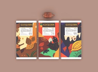 COCOZEN | 巧克力包装设计【原创】