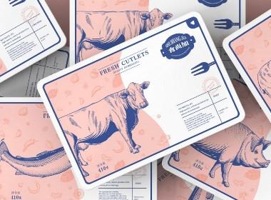 食尚加 | 肉类品牌包装设计【原创】