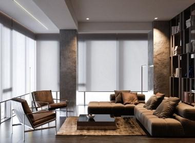 精致高级灰公寓设计,撩人心弦的才更高级