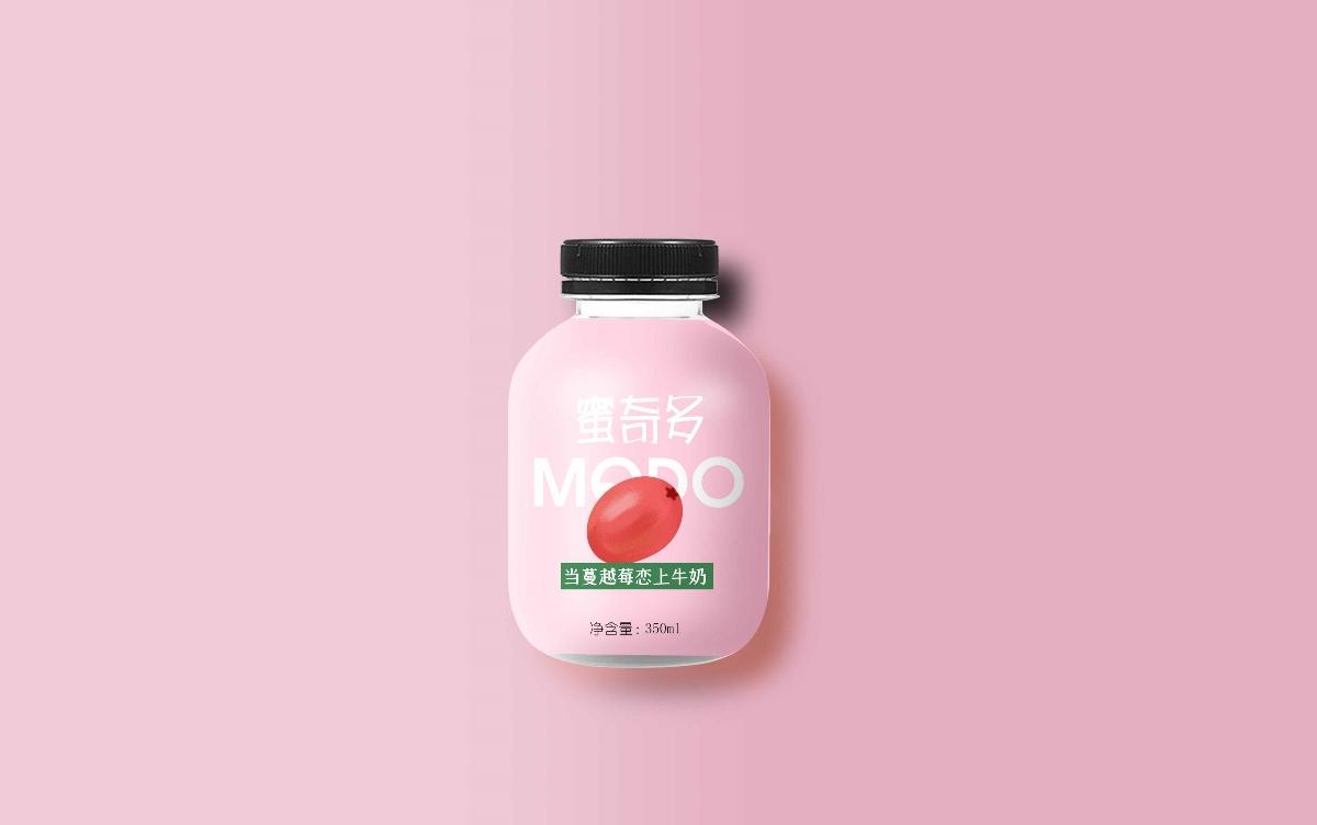 果汁乳酸菌饮品包装设计