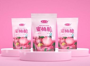 龙山湖水果冻干包装设计 | 产品包装设计