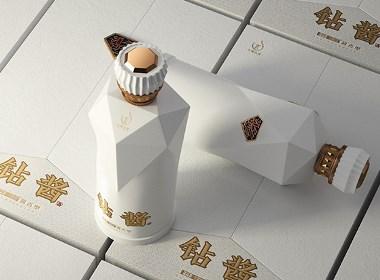 现代风格酱香白酒包装设计-黑马奔腾设计