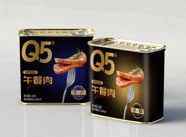 午餐肉罐装包装原创设计