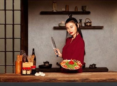 拓牌厨刀品牌新视觉作品分享【汤臣杰逊】