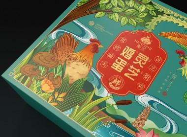 衡芝-灵芝鸡蛋包装设计|衡水瑞智博诚品牌设计