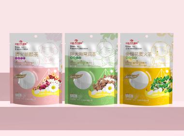 沃爱广告 养生茶花茶包装设计