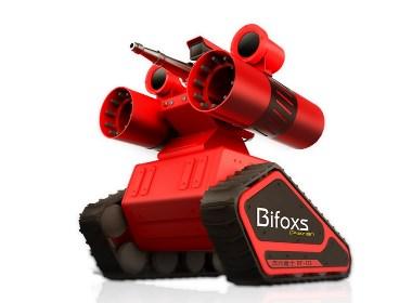 """号称""""赤烈勇士""""的消防机器人设计"""