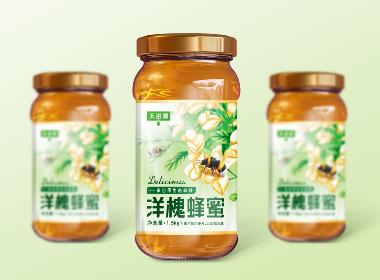 洋槐蜂蜜包装设计