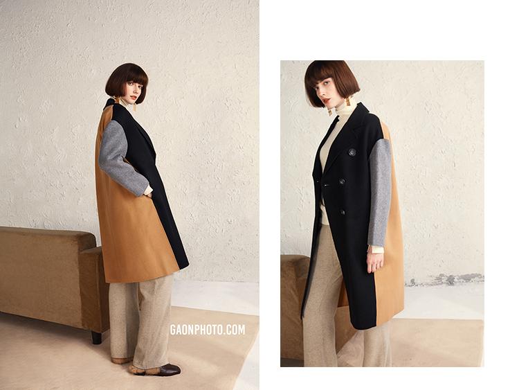 高恩广告#秋冬女装大衣拍摄