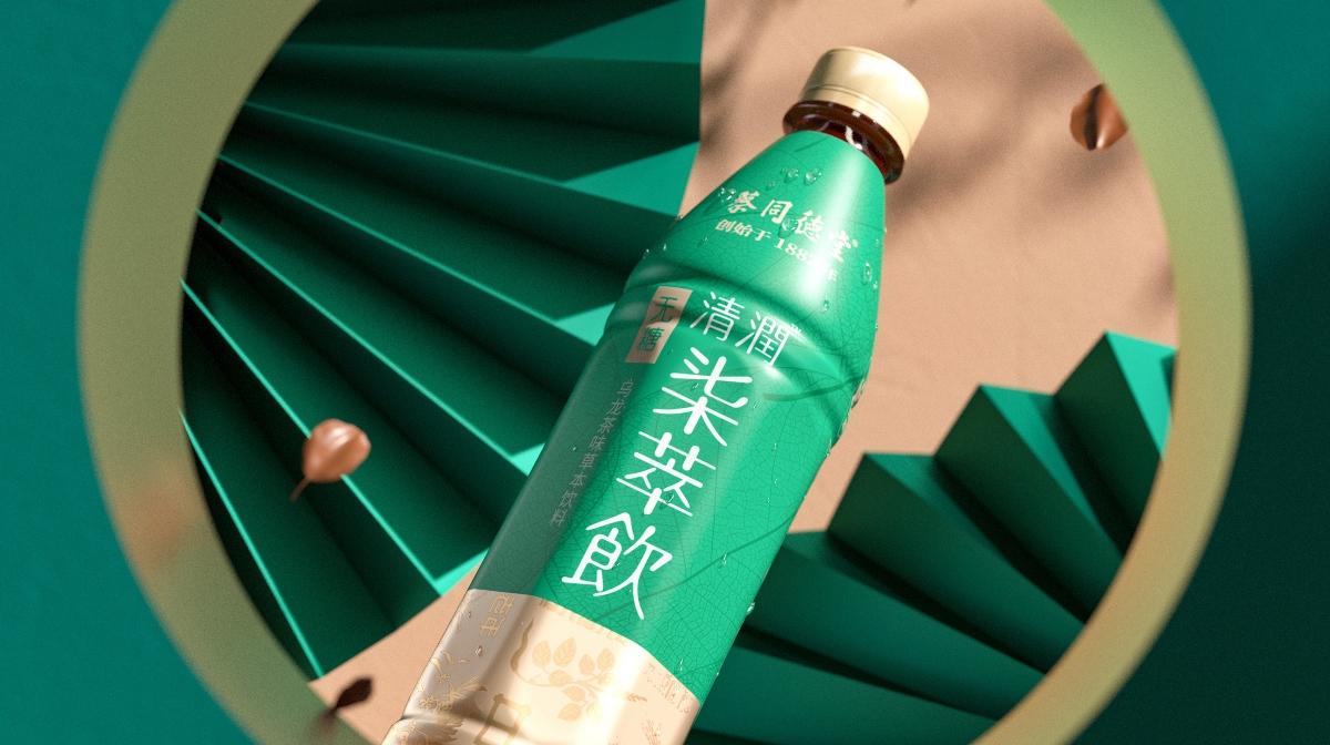 蔡同德堂清润七萃饮包装设计