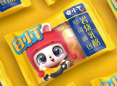 白小T吐司面包—徐桂亮品牌設計