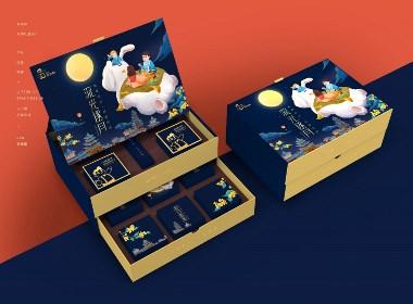 《爸爸糖》月餅禮盒包裝設計