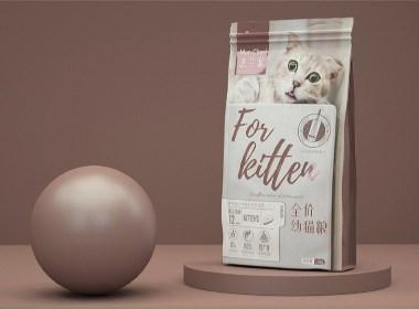 法兰宠 宠物粮包装设计