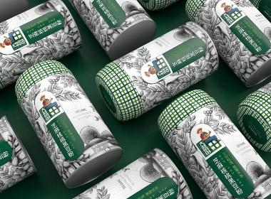 大叔的田芝麻核桃黑豆粉—徐桂亮品牌設計
