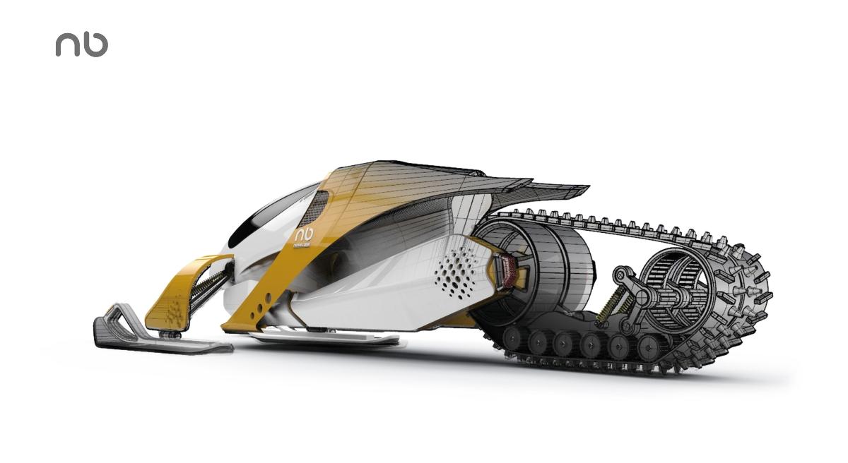 黑桃设计-未来雪地车概念设计