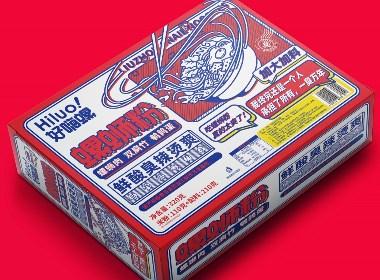 所喜文化:终究是我一个人承担了所有,一臭万年,螺蛳粉包装设计