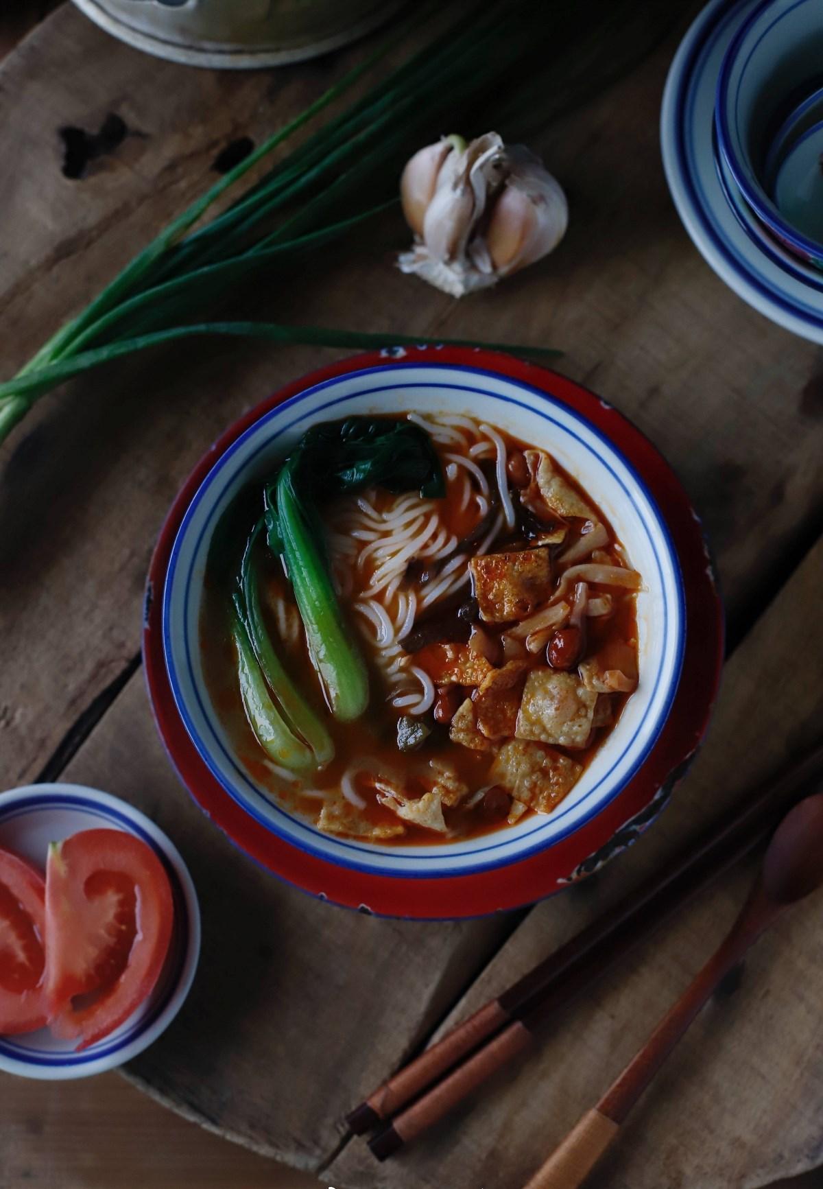 电商食品摄影/武汉中餐美食摄影 一碗有温度的米线