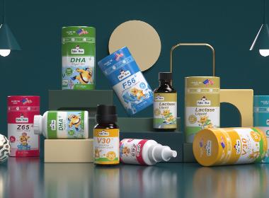 沃爱广告|婴童保健品营养品包装设计