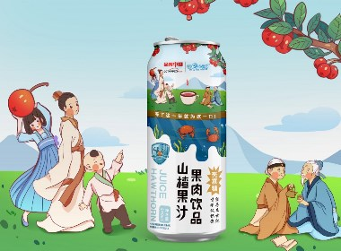 沃爱广告|壳寡糖山楂汁包装设计
