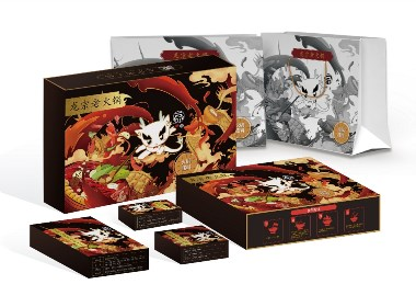 火锅手办包装盒设计