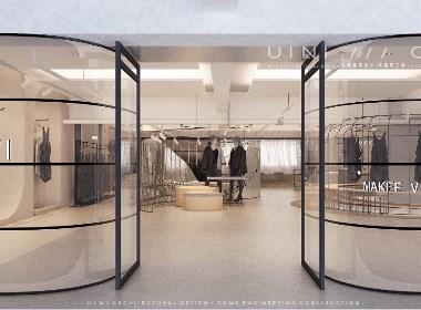 由里建筑设计 商业空间 东莞马克.未(MAKEE.VI )服装展厅