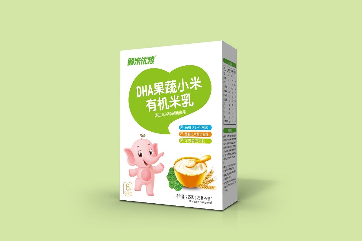 儿童米乳包装设计