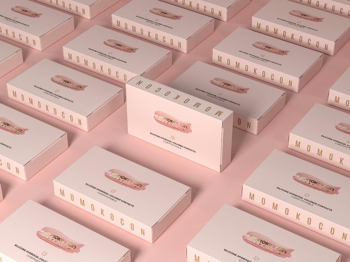 MOMOKO CON × Helllolink | 如何做品牌識別度的美瞳包裝設計