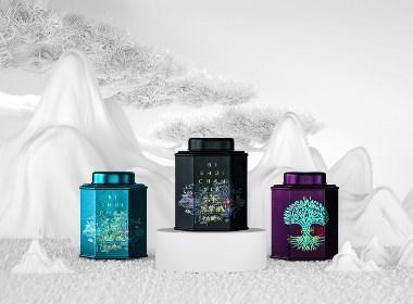 成都包装设计原创作品  碧水禅馨茶叶品牌茶叶礼盒包装设计