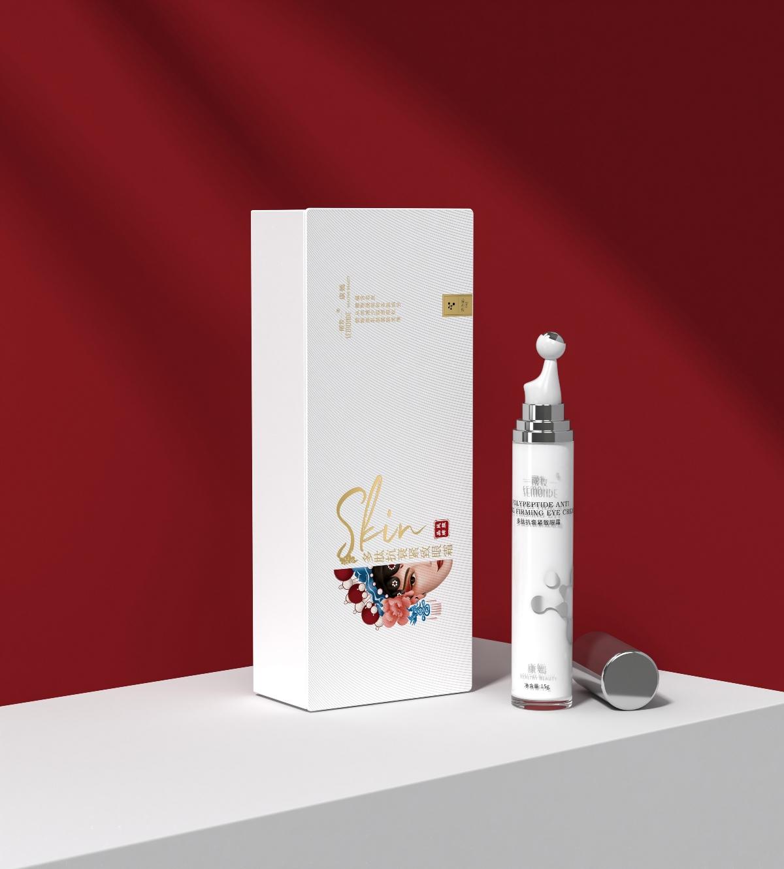 晟妆·康嫣×Hellolink   多肽美肤系列包装设计