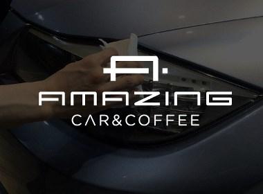 汽車美容改裝咖啡企業集團公司LOGO設計標志商標