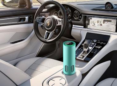 白狐自主研发设计生产空气净化器