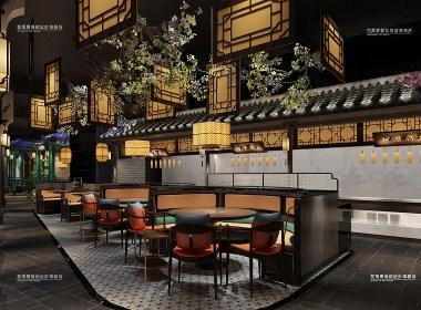 江门·汤潮餐饮全案设计案例-花万里