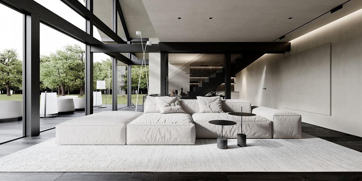 国外现代极简主义住宅