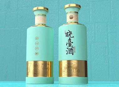 贵州酱香晓台酒包装设计-黑马奔腾设计