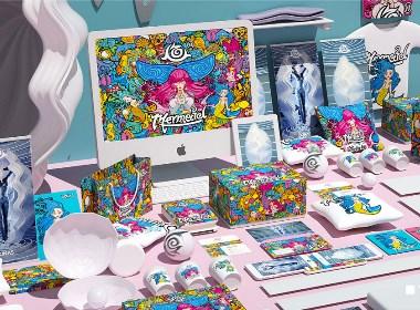 人鱼服饰×佐兹·品牌形象设计