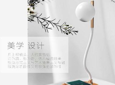 白狐自行设计生产小夜灯