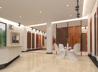 木地板专卖店设计案例效果图