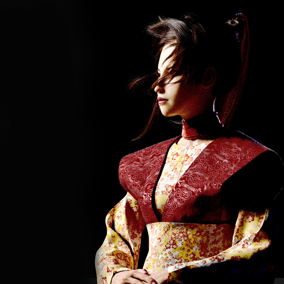 亚洲女孩模型作品