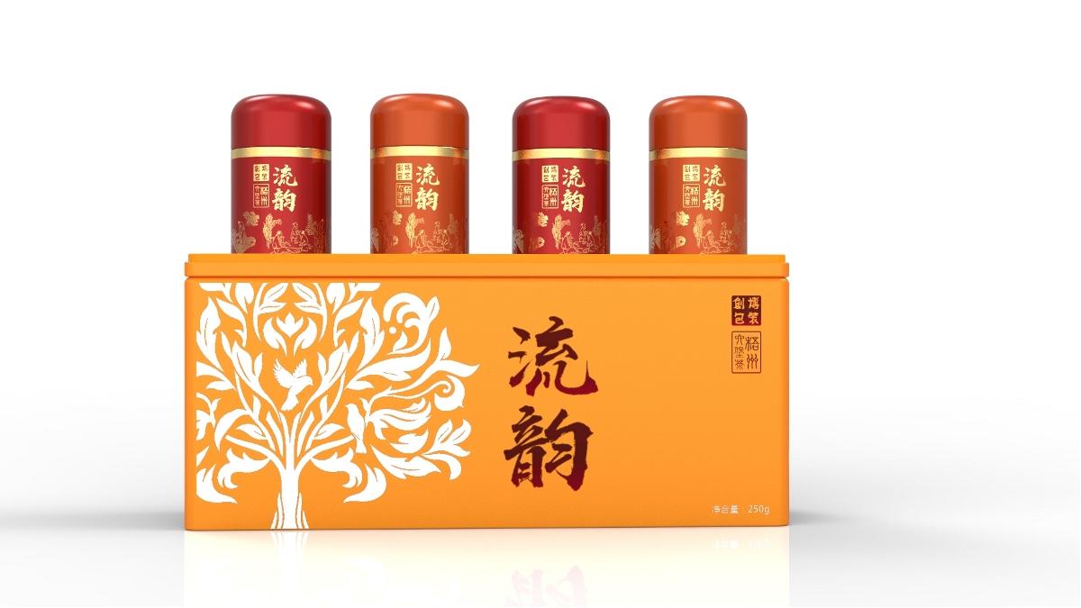 高档茶叶罐包装设计 × CB创博