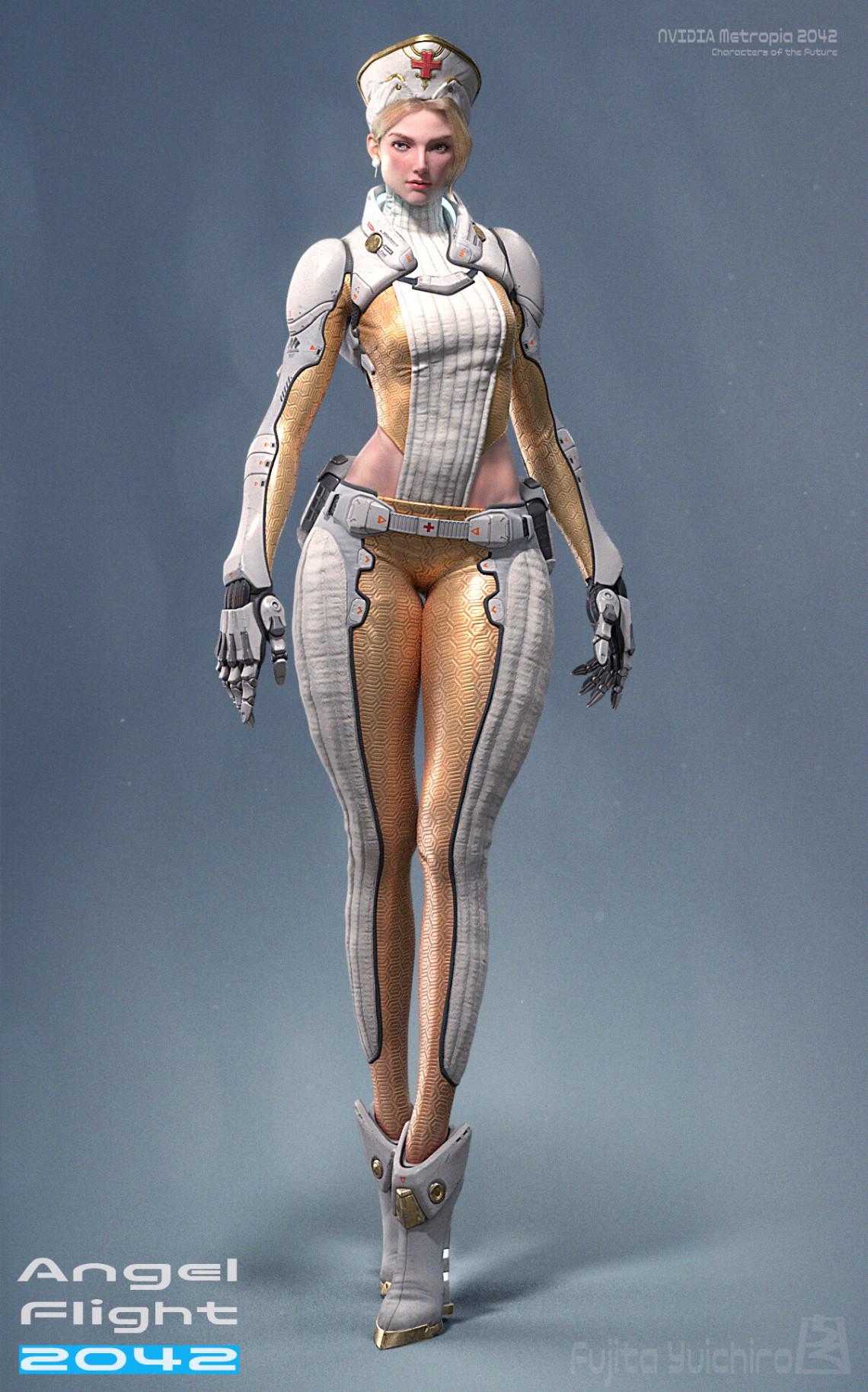 天使2042飞行机器人