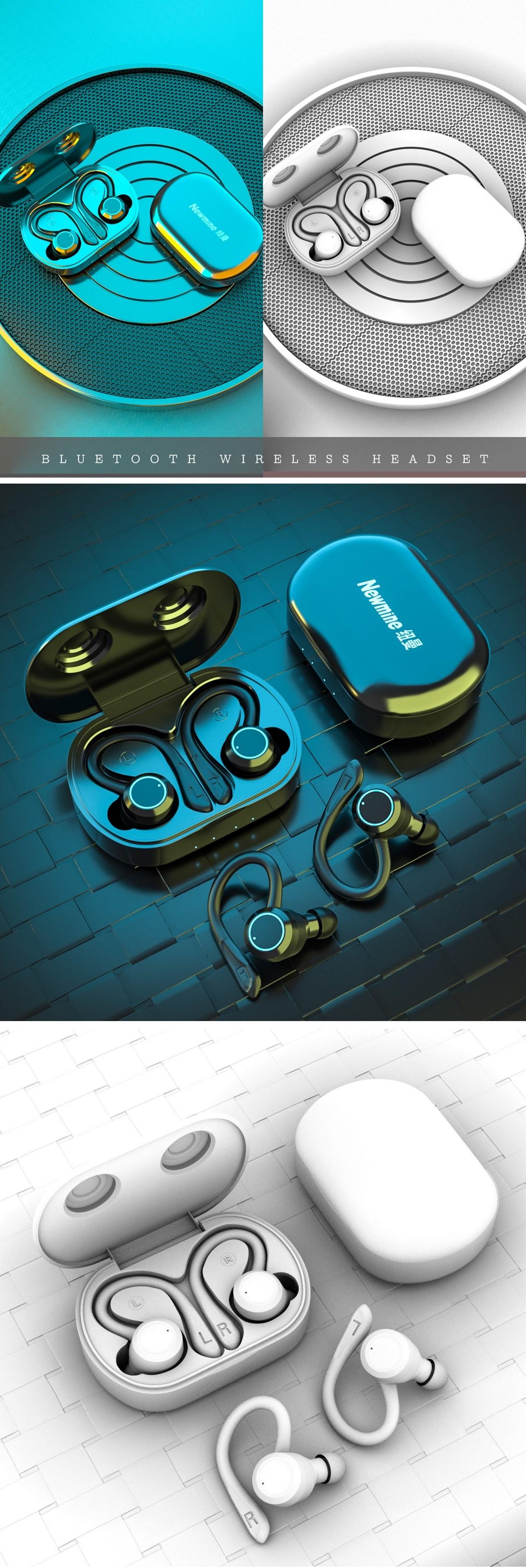 无线蓝牙耳机渲染