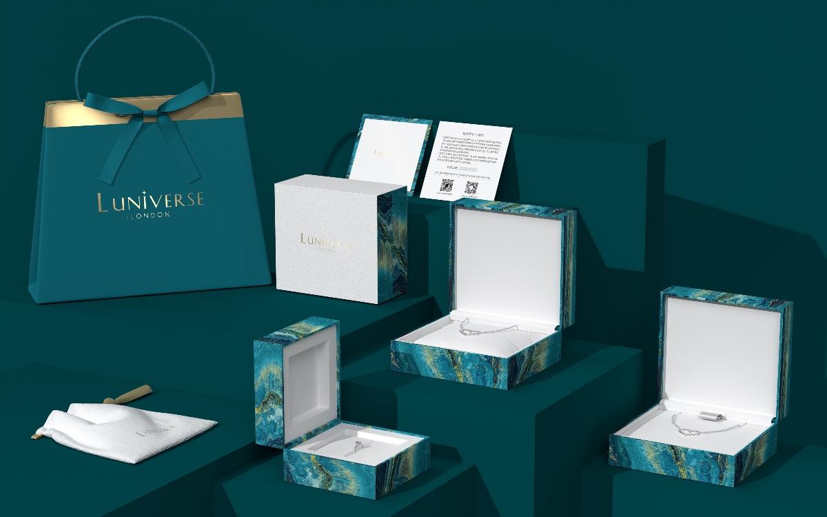 Hellolink | 轻奢饰品品牌首饰盒礼盒袋全套包装设计