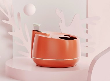黑桃设计-蒸汽式足浴盆