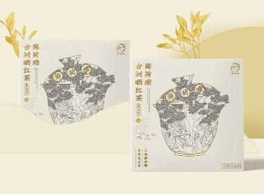 凤宁号茶叶手绘风包装设计