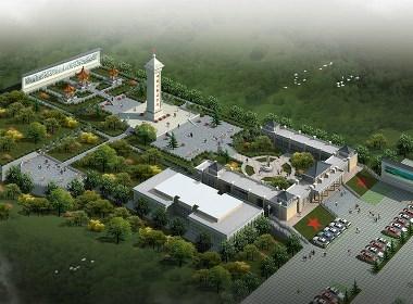 烈士陵园纪念碑设计案例效果图