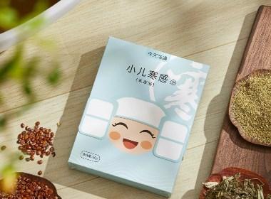 今天泡澡×慧品牌|小儿本草浴包装设计