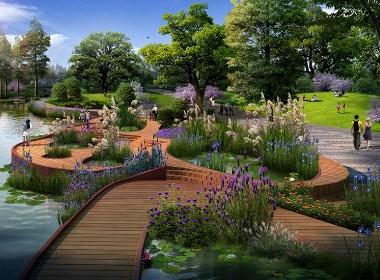 主题公园景观设计案例效果图