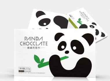 简约风巧克力包装设计-黑马奔腾设计