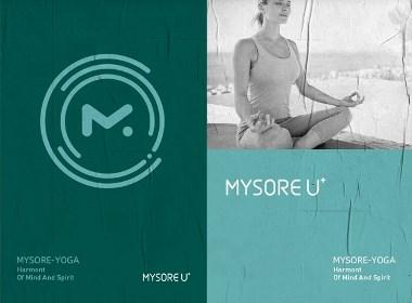 点一案例 / MYSORE U+瑜伽品牌设计