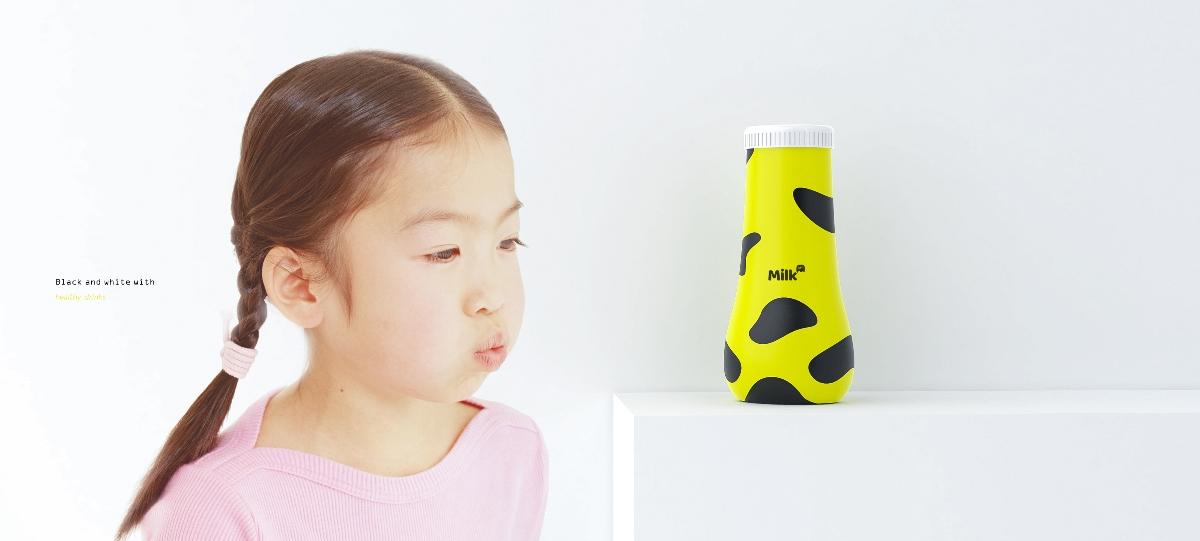 牛奶瓶产品造型设计